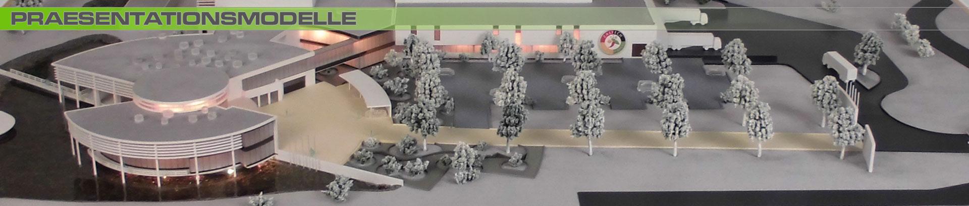 Praesentationmodell Zaltech Zentrale