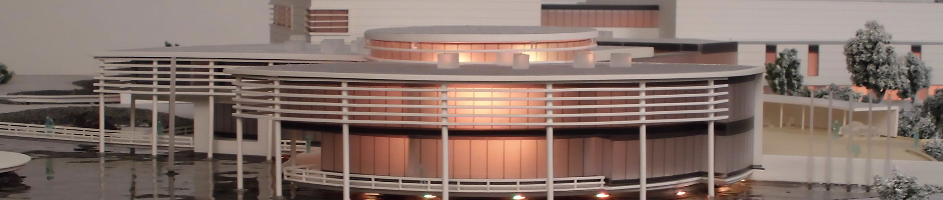 Praesentationsmodell Zaltech Zentrale